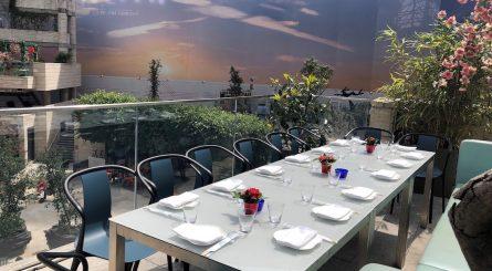 Yauatcha City Private Dining Wok Terrace 445x245