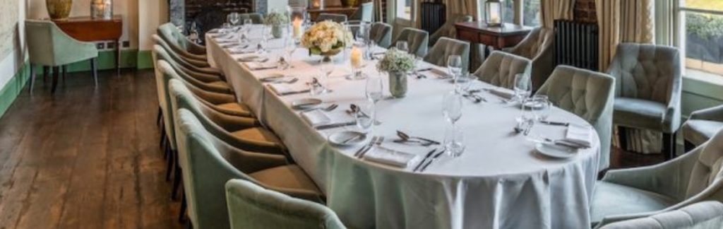 York Albany In Camden Town Private Dining Room 1 1024x324