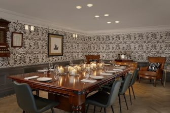 Holmes Hotel Kitchen At Holmes Private Dining Room Image The Billiards Room 335x223