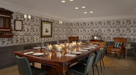 Holmes Hotel Kitchen At Holmes Private Dining Room Image The Billiards Room 445x245