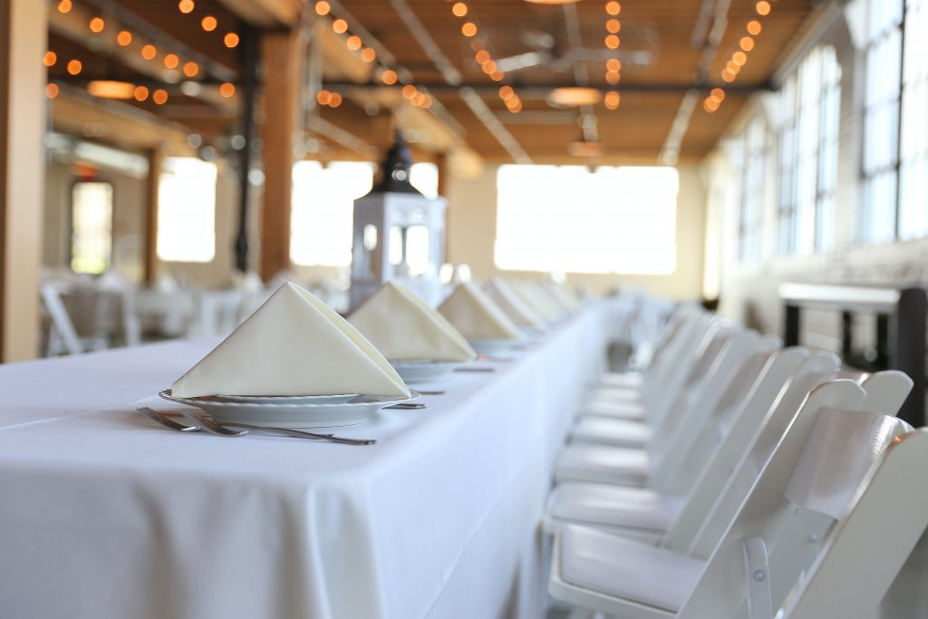 Private dining event planning