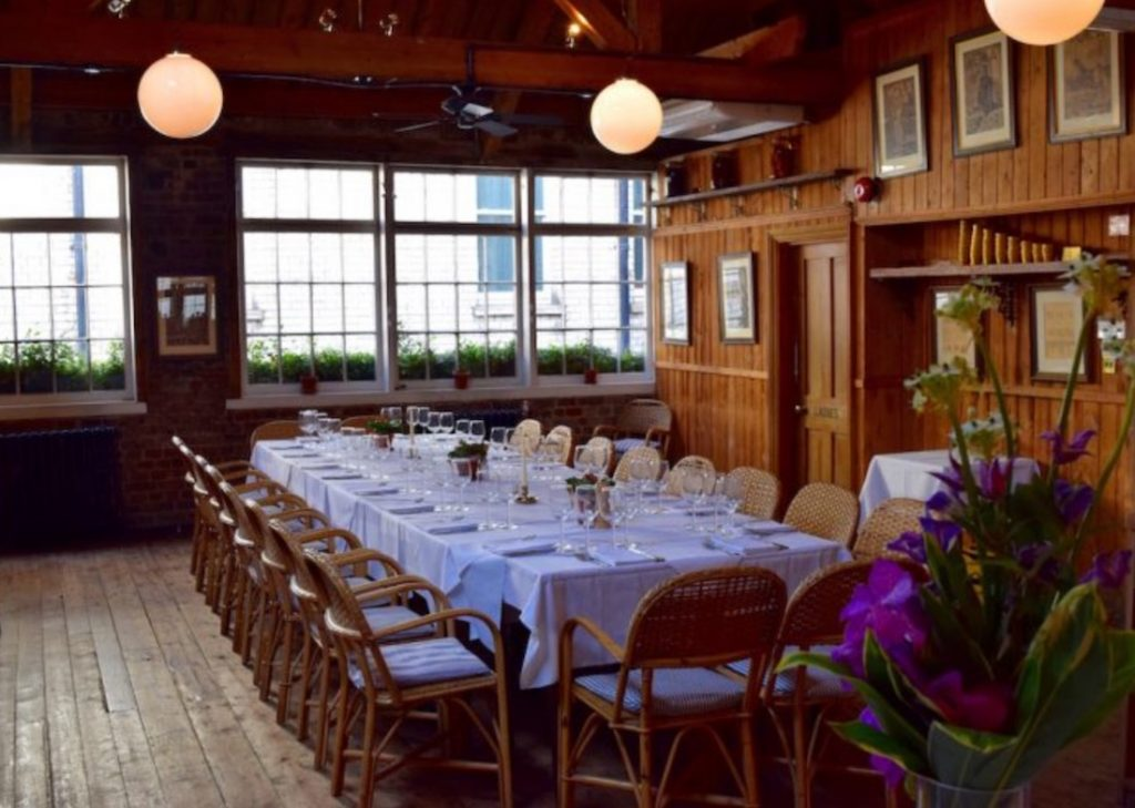 Le Grenier Private Dining Room At Cafe Du Marche 1024x729