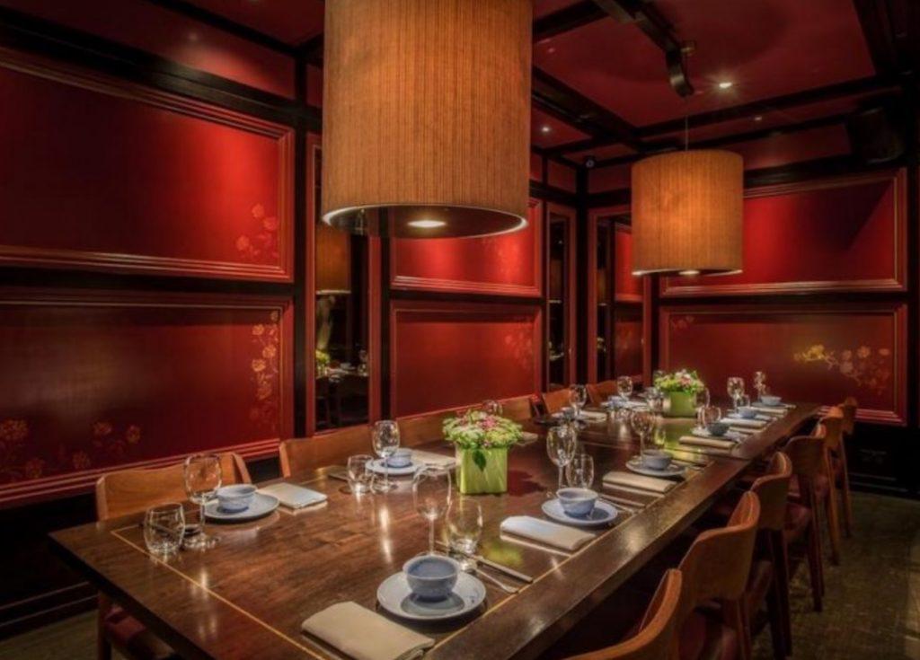 Private Dining Room At Hakkasan Mayfair 1024x735