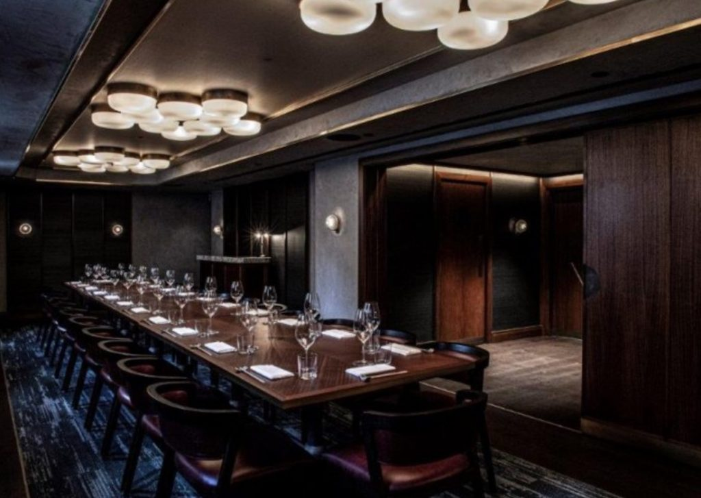 Private Dining Room At Lucky Cat 1024x727