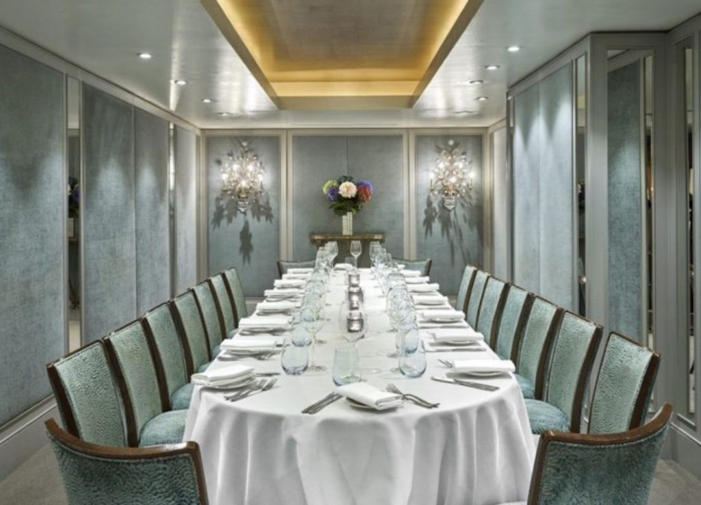 Private Dining Room At The Capital Hotel Knightsbridge 1024x737