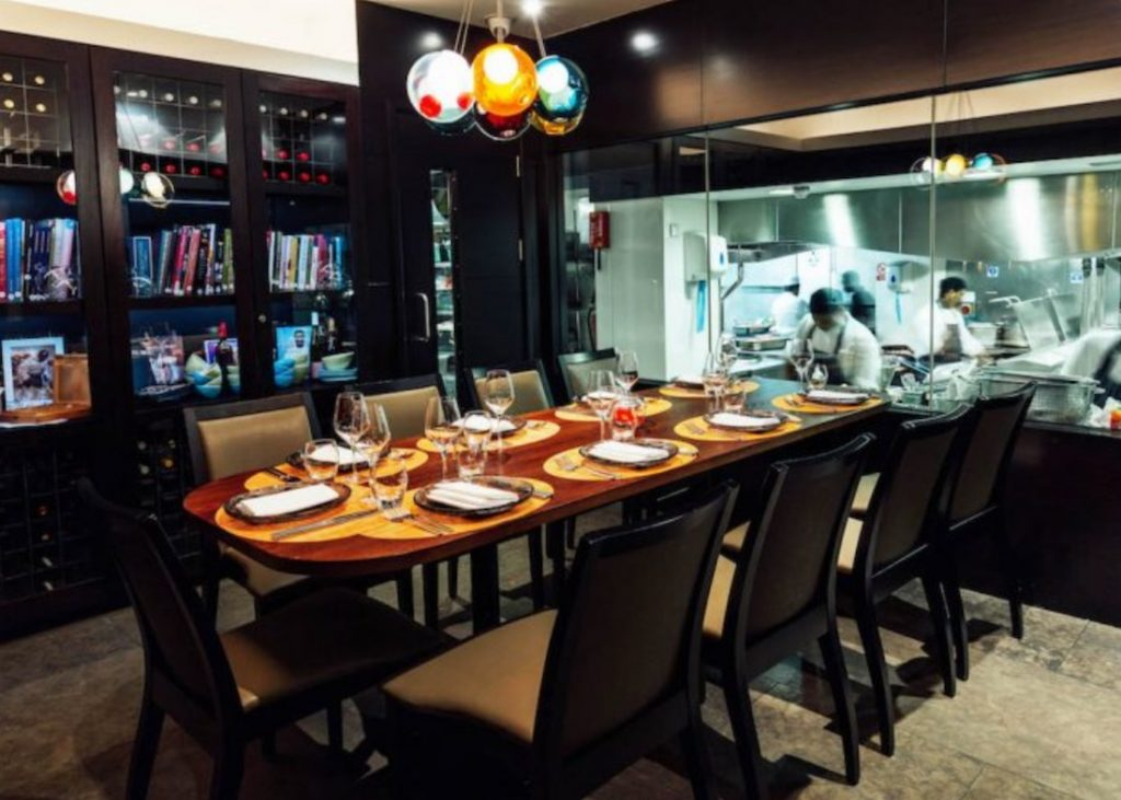 The Chefs Table At Benares 1024x731