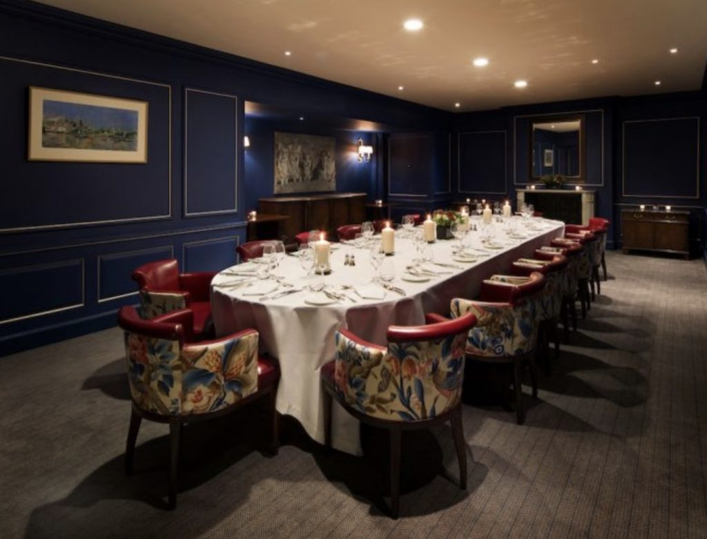 The Stafford London Private Dining Room Image 1024x781