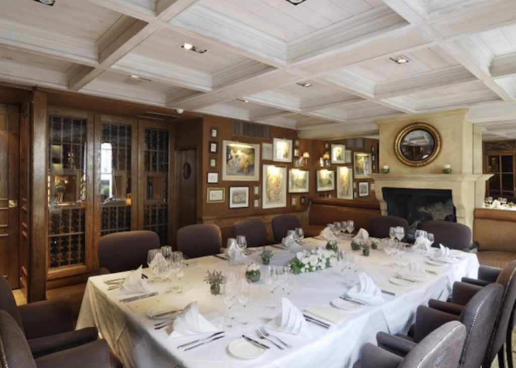 The First Floor Private Dining Room At Clos Maggiore 1024x730