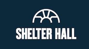 Shelter Hall logo